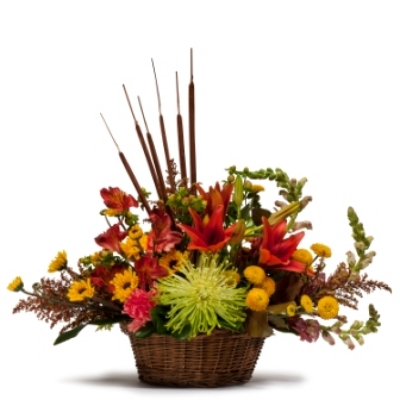Abundant Basket from Joseph Genuardi Florist in Norristown, PA