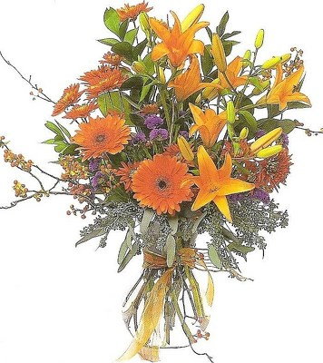 Fall Fashion Vase Arrangement from Joseph Genuardi Florist in Norristown, PA