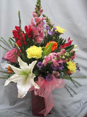 Knock Her Socks Off  Vase Arragement from Joseph Genuardi Florist in Norristown, PA