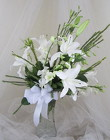 White Magic Vase Arrangement from Joseph Genuardi Florist in Norristown, PA