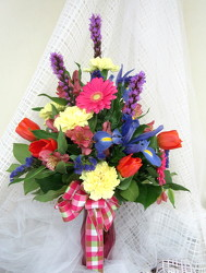 Bold and Beautiful Vase Arrangement  from Joseph Genuardi Florist in Norristown, PA