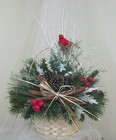 Natures Wonders Christmas Basket from Joseph Genuardi Florist in Norristown, PA