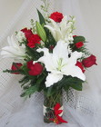 Happy Holidays Vase Arrangement from Joseph Genuardi Florist in Norristown, PA