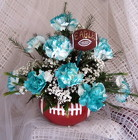 Philadelphia Eagles Football Centerpiece from Joseph Genuardi Florist in Norristown, PA