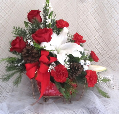 Sleigh Ride Christmas from Joseph Genuardi Florist in Norristown, PA