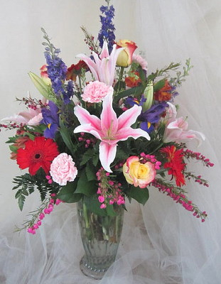 Magnificent Mom Vase Arrangement from Joseph Genuardi Florist in Norristown, PA
