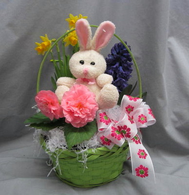 Hippity Hop Easter Basket from Joseph Genuardi Florist in Norristown, PA