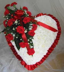 Forever My Love Funeral Heart from Joseph Genuardi Florist in Norristown, PA