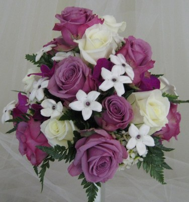 Purple Pleasures Bouquet from Joseph Genuardi Florist in Norristown, PA