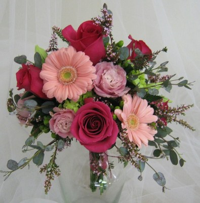 Garden Delight Bridemaids Bouquet from Joseph Genuardi Florist in Norristown, PA