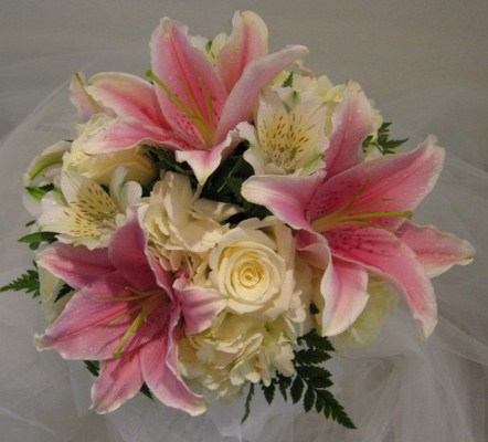 Lily Lovers Wedding Bouquet from Joseph Genuardi Florist in Norristown, PA
