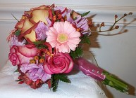 Sweet Bliss Bridesmaid Bouquet from Joseph Genuardi Florist in Norristown, PA