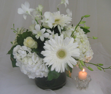 Elegant Styles Wedding Centerpiece from Joseph Genuardi Florist in Norristown, PA