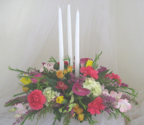 Wedding Blooms Table Centerpiece from Joseph Genuardi Florist in Norristown, PA