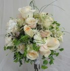Champagne and Roses Bridal Bouquet from Joseph Genuardi Florist in Norristown, PA