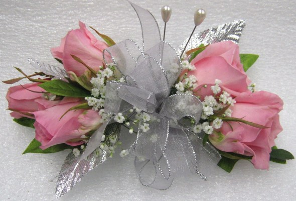 Perfect Pinks Wristlet/Corsage from Joseph Genuardi Florist in Norristown, PA