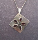Sterling Silver Gemstone Necklace from Joseph Genuardi Florist in Norristown, PA