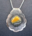 Sterlng Silver with Bumble Bee Jasper Necklace from Joseph Genuardi Florist in Norristown, PA