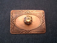 Copper and Gemstone Brooch from Joseph Genuardi Florist in Norristown, PA