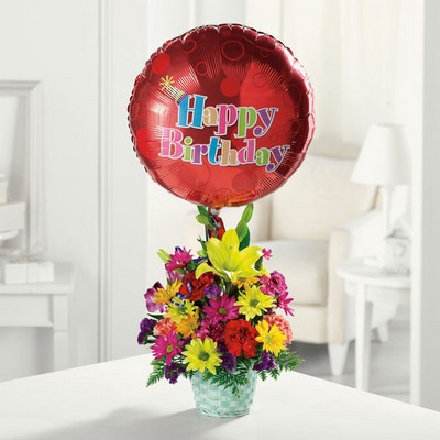 Happy Birthday Basket from Joseph Genuardi Florist in Norristown, PA