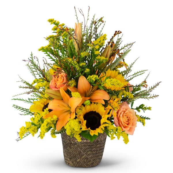 Fall Harvest Basket from Joseph Genuardi Florist in Norristown, PA