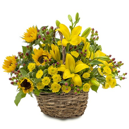 Sunset Basket from Joseph Genuardi Florist in Norristown, PA