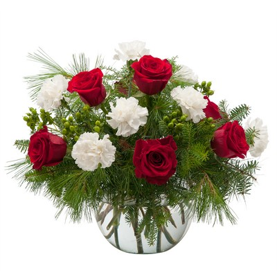 Winter Tidings from Joseph Genuardi Florist in Norristown, PA