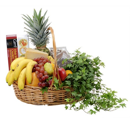 Fabulous Fruit and More Basket from Joseph Genuardi Florist in Norristown, PA