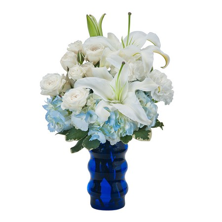 Groovy in Blue from Joseph Genuardi Florist in Norristown, PA