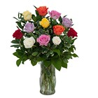 Dozen Roses - Mix it up! from Joseph Genuardi Florist in Norristown, PA