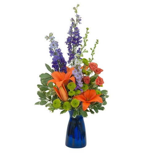 Cheer the Blues from Joseph Genuardi Florist in Norristown, PA