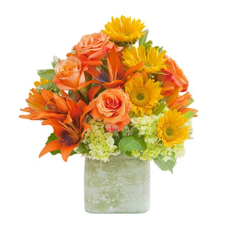 Textured Sunset Vase from Joseph Genuardi Florist in Norristown, PA