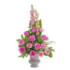 Peaceful Pink Small Urn  from Joseph Genuardi Florist in Norristown, PA