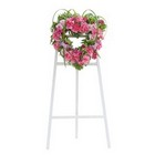Peaceful Pink Heart Spray from Joseph Genuardi Florist in Norristown, PA