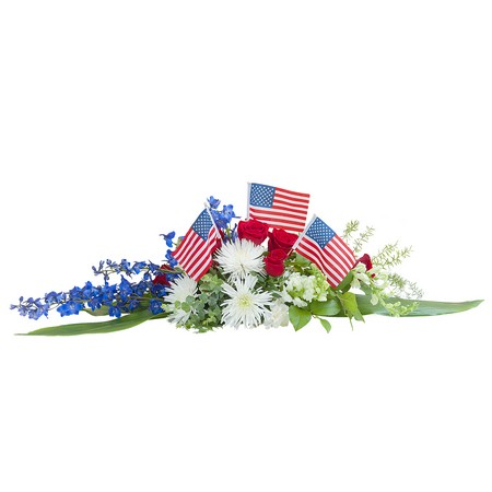 Honor and Glory Centerpiece from Joseph Genuardi Florist in Norristown, PA
