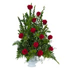 Royal Dozen Rose Urn  from Joseph Genuardi Florist in Norristown, PA