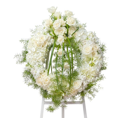 Elegant Wreath from Joseph Genuardi Florist in Norristown, PA