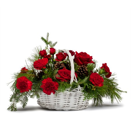 Classic Holiday Basket from Joseph Genuardi Florist in Norristown, PA